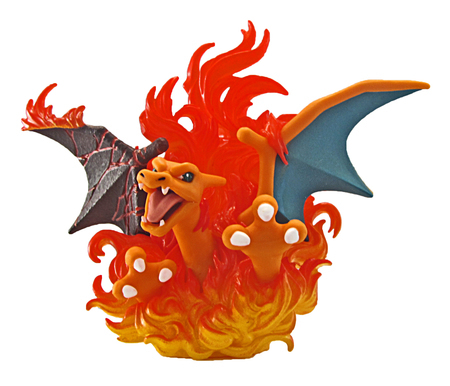 Charizard Collectible Figure (Red and Blue Collection)
