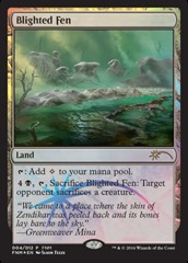 Blighted Fen (FNM Foil)