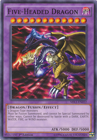 Five-Headed Dragon - MIL1-EN012 - Common - 1st Edition