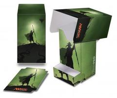 Planeswalker -  Nissa Full View Deck Box with Tray for Magic