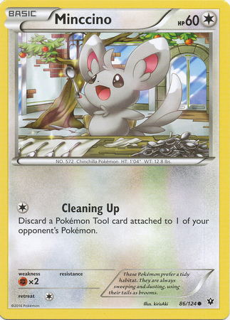 Minccino - 86/124 - Common