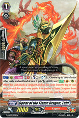 Spear of the Flame Dragon, Tahr - G-LD02/008EN - C on Channel Fireball