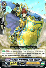 Knight of Evening Glow, Capoir - G-SD02/008EN on Channel Fireball