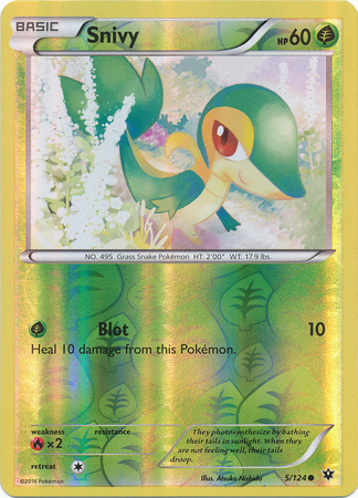 Snivy - 5/124 - Common - Reverse Holo