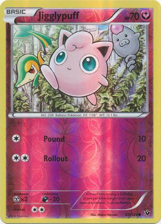 Wormadam 44//124  X/&Y Fates Collide  Reverse Holo  NM//Mint Pokemon