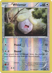 Whismur - 80/124 - Common - Reverse Holo