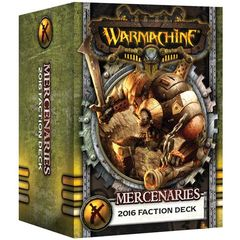 MERCENARIES - FACTION DECK (MK III) PIP 91109