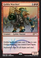 Goblin Warchief - May 2016 Foil