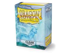 Dragon Shield Standard Matte Sleeves: Clear