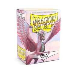 Dragon Shield Sleeves - Matte Pink (Box of 100)