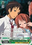 Time Travel, Kyon & Mikuru - SY/WE09-E06 - R Foil