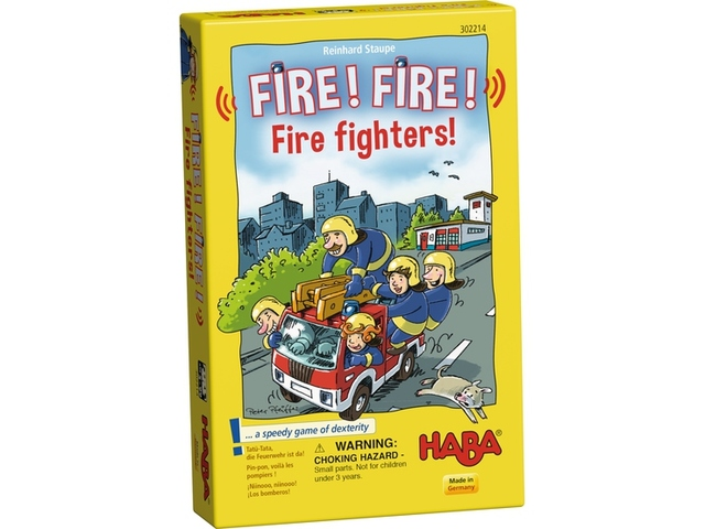 Fire! Fire! Fire Fighters