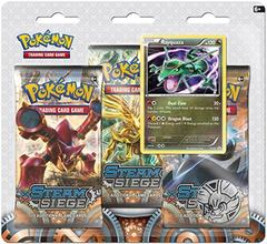 XY Steam Siege - 3-Pack Pin Blister - Rayquaza