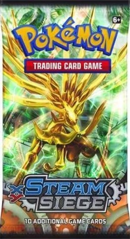 Pokemon: XY Steam Siege Booster Pack