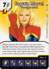 Captain Marvel - Kree-Powered (Die & Card Combo)