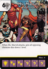 Ms. Marvel - Biggest Fan (Card Only)