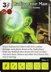 Radioactive Man - Splitting Atoms (Die & Card Combo)