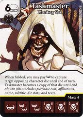Taskmaster - Monkey See (Die & Card Combo)