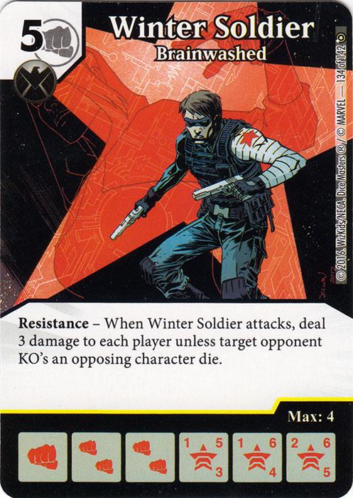 Winter Soldier - Brainwashed (Die & Card Combo)