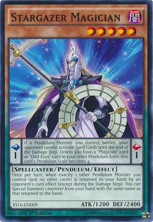 Stargazer Magician - YS16-EN009 - Common - 1st Edition