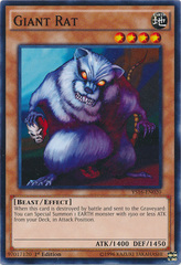 Giant Rat - YS16-EN020 - Common - 1st Edition on Channel Fireball