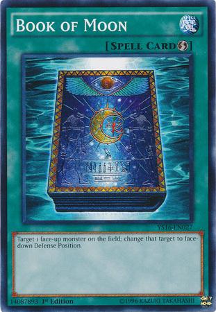Book of Moon - YS16-EN027 - Common - 1st Edition