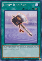 Lucky Iron Axe - YS16-EN028 - Common - 1st Edition