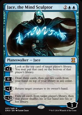 Jace, the Mind Sculptor - Foil