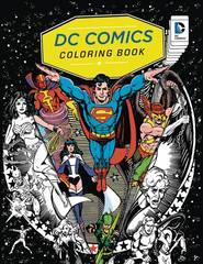 Dc Comics Coloring Book Sc