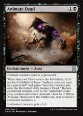 Animate Dead - Foil on Channel Fireball