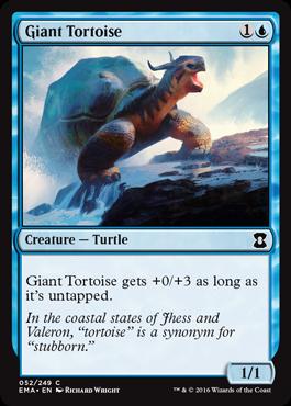 Giant Tortoise - Foil