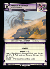 Arrakis Eternity - Foil on Channel Fireball