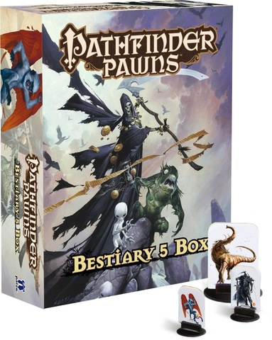 Pathfinder Pawns: Bestiary 5 Box - Tabletop Games » Role Playing