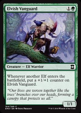 Elvish Vanguard - Foil