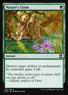 Natures Claim - Foil