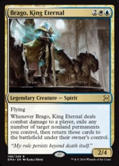 Brago, King Eternal - Foil on Channel Fireball