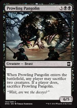 Prowling Pangolin