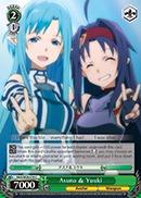 Asuna & Yuuki - SAO/SE26-E18 - C - Foil