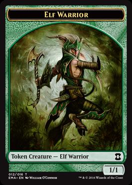 Elf Warrior Token