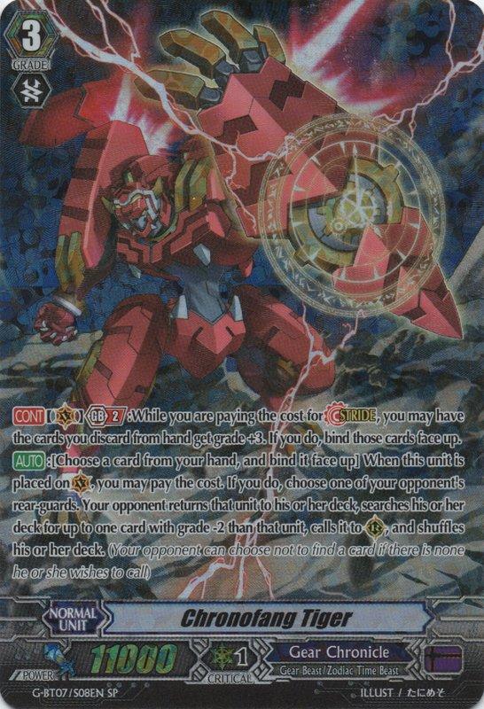 Chronofang Tiger - G-BT07/S08EN - SP