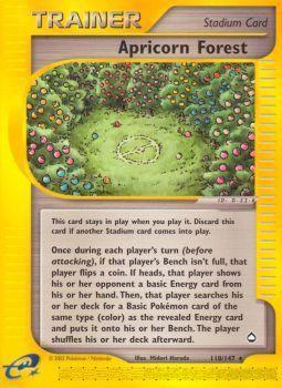Apricorn Forest - 118/147 - Rare