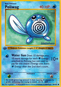 Poliwag - 59/102 - Common - 1st Edition
