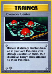 Pokemon Center - 85/102 - Uncommon - 1st Edition
