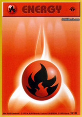 Fire Energy - 98/102 - Common - 1st Edition