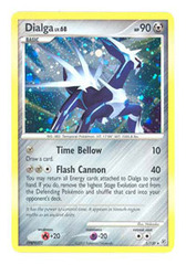 Dialga - 1/130 - Holo Rare on Channel Fireball