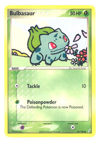 Bulbasaur - 45/100 - Common
