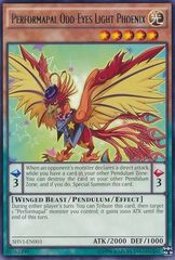 Performapal Odd-Eyes Light Phoenix - SHVI-EN003 - Rare - Unlimited Edition