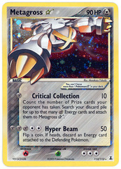 Metagross Gold Star - 113/113 - Ultra Rare