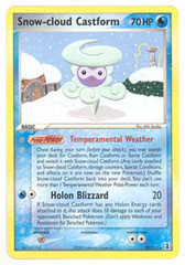 Snow-cloud Castform - 29/113 - Rare