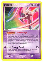Deoxys (Attack) - 17/107 - Rare on Channel Fireball